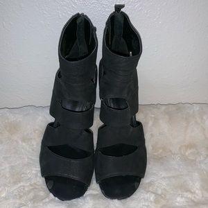Franco Sarto | Leather | cage Heels